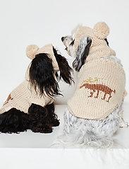 Ilse Jacobsen - Dog Knit Hat - accessoires pour chiens - natural - 3