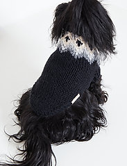 Ilse Jacobsen - Dog Knit - dog accessories - black - 0