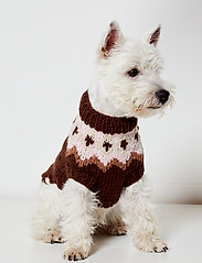 Ilse Jacobsen - Dog Knit - dog accessories - brown - 0