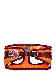 Dog Harness - BURNT HENNA RED ORANGE