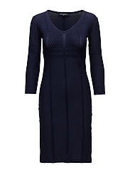 KNIT DRESS - ROYAL