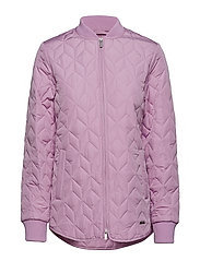 PADDED QUILT JACKET - FROSTING
