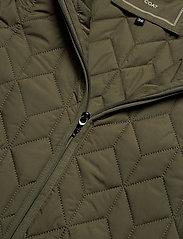 Ilse Jacobsen - Padded Quilt Coat - dynefrakke - army - 5
