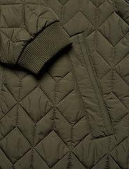 Ilse Jacobsen - Padded Quilt Coat - dynefrakke - army - 6