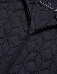 Ilse Jacobsen - Padded Quilt Coat - dynefrakke - dark indigo - 5