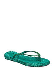 FLIPFLOP WITH GLITTER - NORTH GREEN