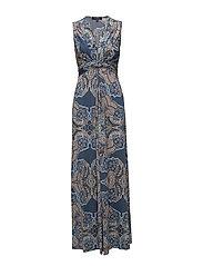 DRESS - ASH BLUE