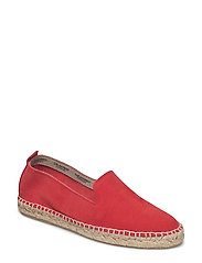 ESPADRILLE FLAT - DEEP RED