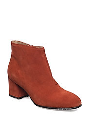 SUEDE ANKLE BOOT - 333 LIGHT BRICK