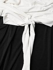 Ilse Jacobsen - Dress - cocktailkjoler - white sugar and black - 3