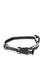 Dog Collar for Puppies - BLACK WHITE SUGAR