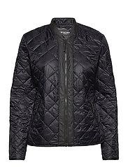 Light Quilt Jacket - BLACK
