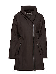 3/4 RAINCOAT - BLACK