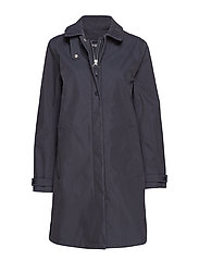 RAINCOAT - DARK INDIGO