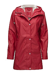 Raincoat - DEEP RED