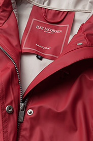 Ilse Jacobsen - Raincoat - regnjakker - deep red - 2