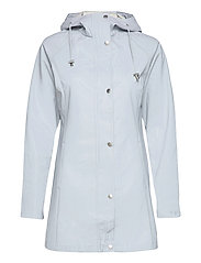Raincoat - WHITE BLUE