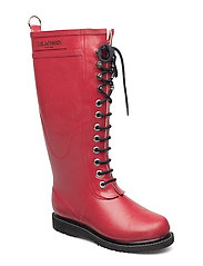 LONG RUBBERBOOT - DEEP RED