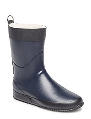 SHORT RUBBER BOOT - DARK INDIGO
