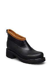 SHORT RUBBER BOOT - BLACK