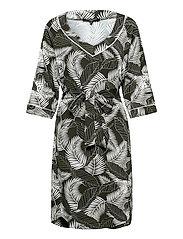 Dress - DEEP OLIVE