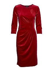 DRESS - DEEP RED