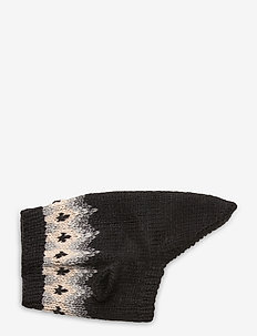 Dog Knit - hundetilbehør - black