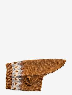 Dog Knit - dog accessories - rust