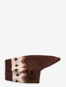 Dog Knit - hundetilbehør - brown