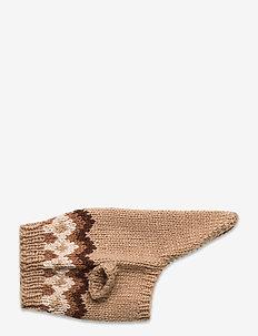 Dog Knit - hundetilbehør - natural