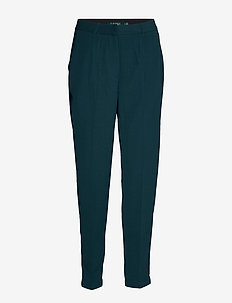 TROUSERS - pantalons droits - midnight navy