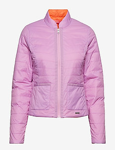 REVERSIBLE LIGHT PADDED JACKET - FROSTINGCAMELIA