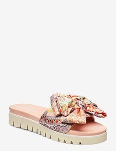 SLIP-ON SANDALS - sandales - coral blush