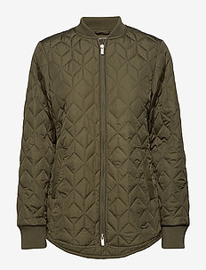 PADDED QUILT JACKET - ARMY