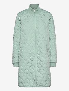 Padded Quilt Coat - manteaux d'hiver - sea foam