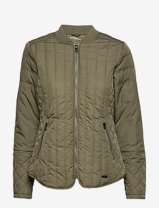 QUILT JACKET - army