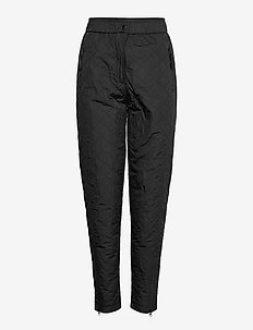 PANTS - pantalons droits - black