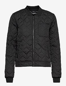 Quilt Jacket - forede jakker - black