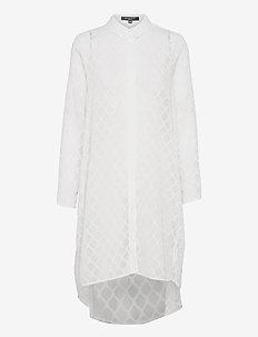 Shirt - sukienki koszulowe - white