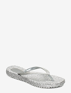 FLIPFLOP WITH GLITTER - 71 silver
