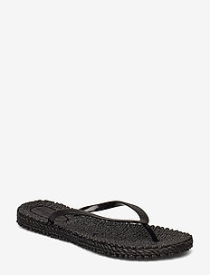 FLIPFLOP WITH GLITTER - tongs - black