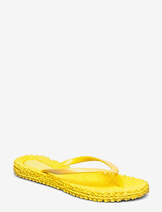 FLIPFLOP WITH GLITTER - flip-flops - yellow