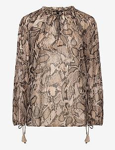 BLOUSE CRIN1320B - blouses à manches longues - kit