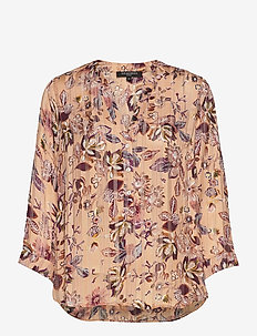 Shirt - langærmede bluser - soft coral