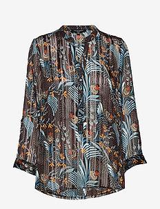 SHIRT - blouses à manches longues - black
