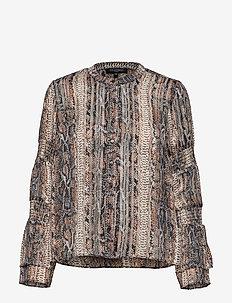 SHIRT - blouses à manches longues - nut