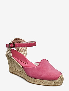 ESPADRILLE WEDGE - FROSTING