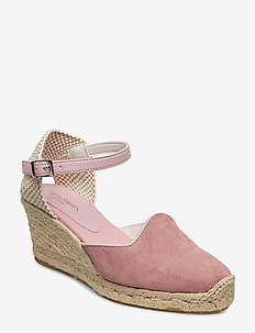 ESPADRILLE WEDGE - ROSE
