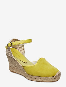 ESPADRILLE WEDGE - SUPER LEMON