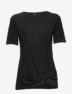 BLOUSE - t-shirts - black